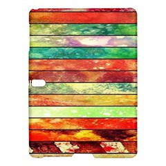 Stripes Color Oil Samsung Galaxy Tab S (10 5 ) Hardshell Case
