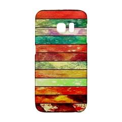 Stripes Color Oil Galaxy S6 Edge