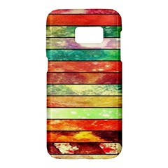 Stripes Color Oil Samsung Galaxy S7 Hardshell Case