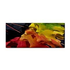 Green Yellow Red Maple Leaf Cosmetic Storage Cases