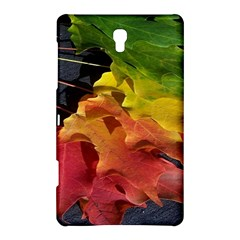 Green Yellow Red Maple Leaf Samsung Galaxy Tab S (8.4 ) Hardshell Case