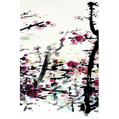 Pink Flower Ink Painting Art 5 5  X 8 5  Notebooks