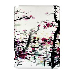 Pink Flower Ink Painting Art Galaxy Note 1