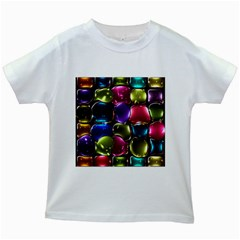 Stained Glass Kids White T Shirts