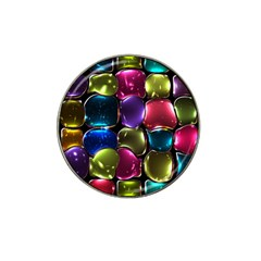 Stained Glass Hat Clip Ball Marker (4 pack)