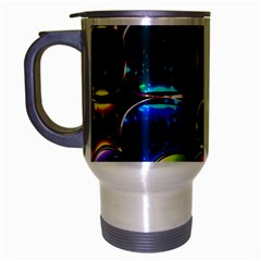 Stained Glass Travel Mug (Silver Gray)