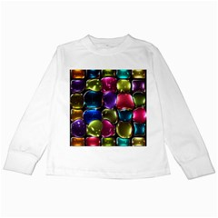 Stained Glass Kids Long Sleeve T-Shirts