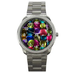 Stained Glass Sport Metal Watch