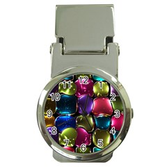 Stained Glass Money Clip Watches