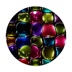 Stained Glass Round Ornament (two Sides)