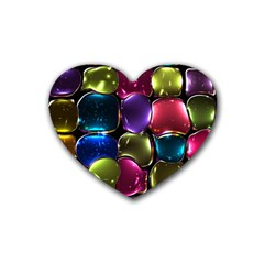 Stained Glass Heart Coaster (4 Pack)