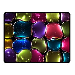Stained Glass Fleece Blanket (small)