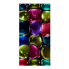 Stained Glass Shower Curtain 36  x 72  (Stall)