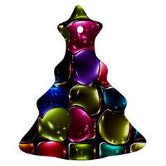 Stained Glass Ornament (christmas Tree)