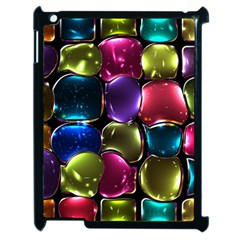 Stained Glass Apple iPad 2 Case (Black)