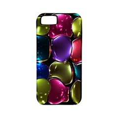 Stained Glass Apple Iphone 5 Classic Hardshell Case (pc+silicone)