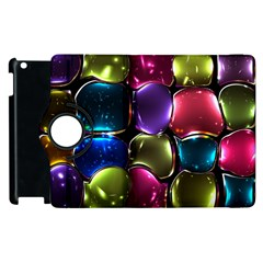 Stained Glass Apple Ipad 3/4 Flip 360 Case