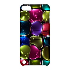 Stained Glass Apple Ipod Touch 5 Hardshell Case With Stand
