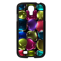 Stained Glass Samsung Galaxy S4 I9500/ I9505 Case (Black)