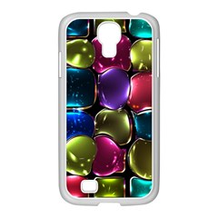 Stained Glass Samsung Galaxy S4 I9500/ I9505 Case (white)