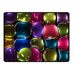 Stained Glass Double Sided Fleece Blanket (small)