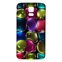 Stained Glass Samsung Galaxy S5 Back Case (White)
