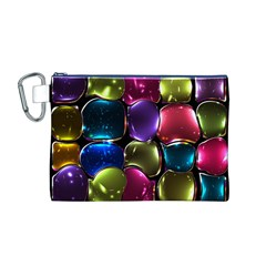 Stained Glass Canvas Cosmetic Bag (m)