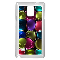 Stained Glass Samsung Galaxy Note 4 Case (white)