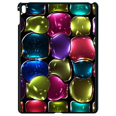 Stained Glass Apple Ipad Pro 9 7   Black Seamless Case