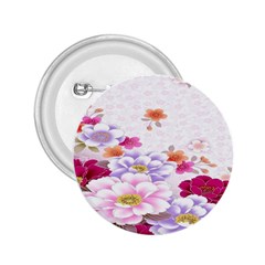 Sweet Flowers 2.25  Buttons