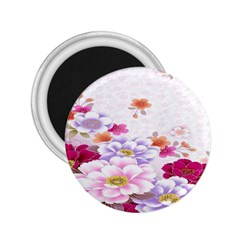 Sweet Flowers 2.25  Magnets