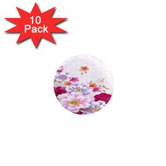 Sweet Flowers 1  Mini Magnet (10 pack)