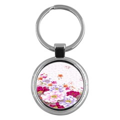Sweet Flowers Key Chains (round)