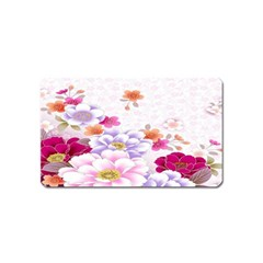 Sweet Flowers Magnet (name Card)
