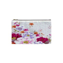 Sweet Flowers Cosmetic Bag (Small)