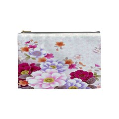 Sweet Flowers Cosmetic Bag (Medium)