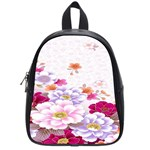 Sweet Flowers School Bags (Small)  Front