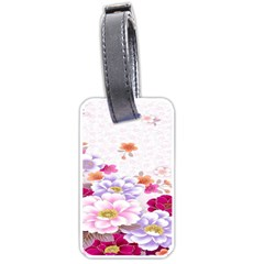 Sweet Flowers Luggage Tags (One Side)