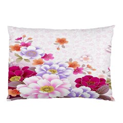 Sweet Flowers Pillow Case (Two Sides)