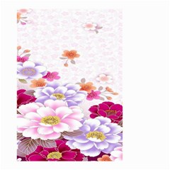 Sweet Flowers Small Garden Flag (Two Sides)