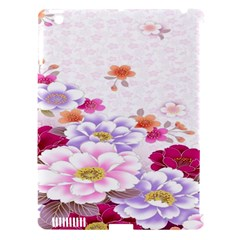 Sweet Flowers Apple iPad 3/4 Hardshell Case (Compatible with Smart Cover)