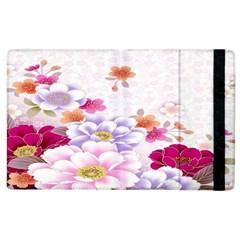 Sweet Flowers Apple iPad 3/4 Flip Case