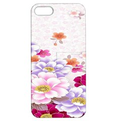 Sweet Flowers Apple iPhone 5 Hardshell Case with Stand
