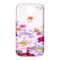 Sweet Flowers Samsung Galaxy S4 Classic Hardshell Case (PC+Silicone)