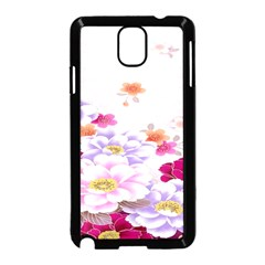 Sweet Flowers Samsung Galaxy Note 3 Neo Hardshell Case (black)