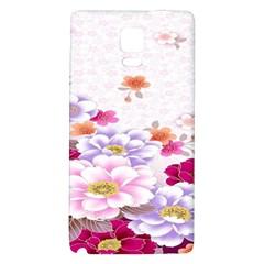 Sweet Flowers Galaxy Note 4 Back Case