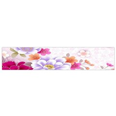 Sweet Flowers Flano Scarf (Small)