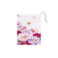 Sweet Flowers Drawstring Pouches (xs)