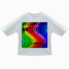 Colorful Vertical Lines Infant/toddler T Shirts