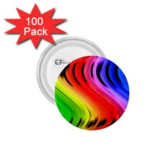 Colorful Vertical Lines 1.75  Buttons (100 pack)